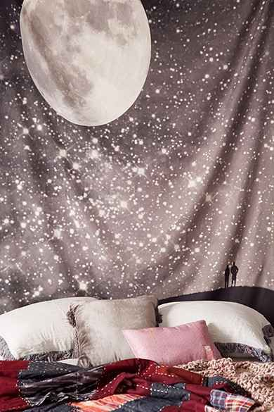 Shannon Clark For DENY Love Under The Stars Tapestry - urban outfitters