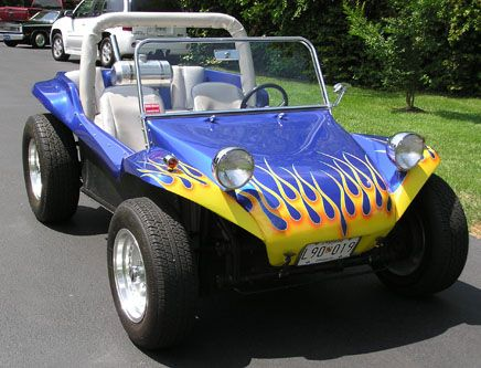 Volkswagen Dune Buggies same body style as mine front fenders are similar to a beetle