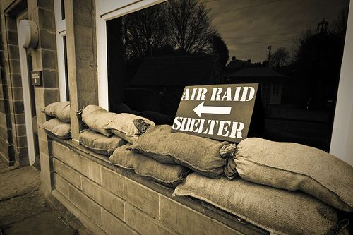 air raid shelter role play - Google Search