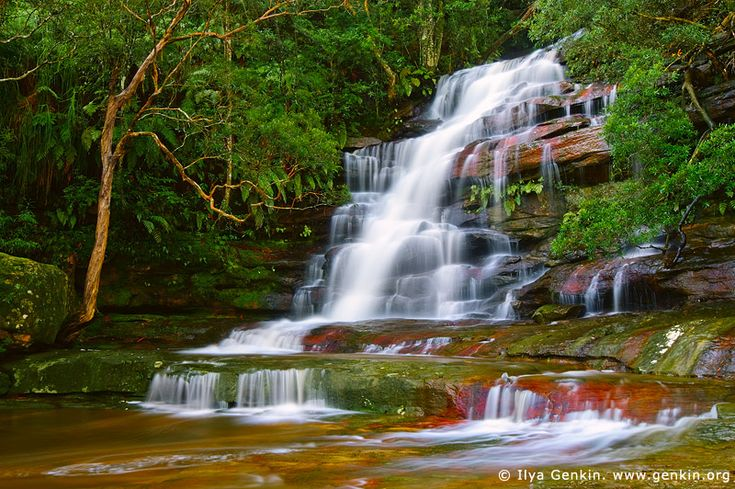 Upper Somersby Falls, Central Coast, NSW, Australia