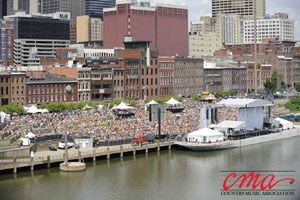 FREE shows during CMA Fest 2017! Check out the lineups at the stages throughout Downtown Nashville hosting FREE live music each day during the 2017 CMA Music Festival.