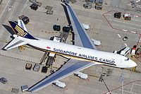 9V-SFF Singapore Airlines Cargo Boeing 747-412F
