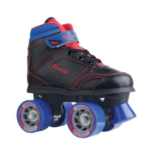 This iconic Quad Sidewalk Skate from Chicago is strategically designed for gliding but is also a popular choice for all-around rink and social skating for decades. Featuring 4 premium oversized wheels, semi-precision bearings, high impact double adjustable chassis and truck, a self-adhesive... more details available at https://perfect-gifts.bestselleroutlets.com/gifts-for-teens/skates-skateboards-scooters/product-review-for-chicago-boys-sidewalk-skate/