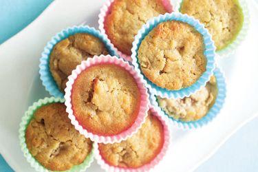 Feijoa and honey muffins
