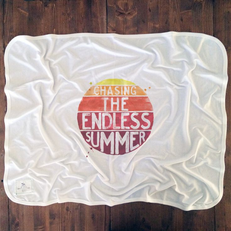 Endless Summer - Baby Blankets