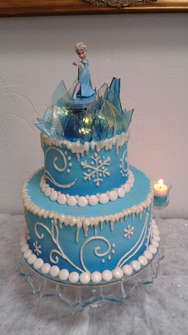 20 best Frozen Birthday Cake images on Pinterest Amazing cakes