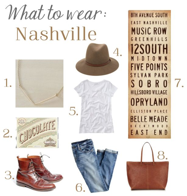 What to Wear in Nashville | Nashville Style | nashville outfit idea | nashville tourist style | how to not look like a tourist in Nashville