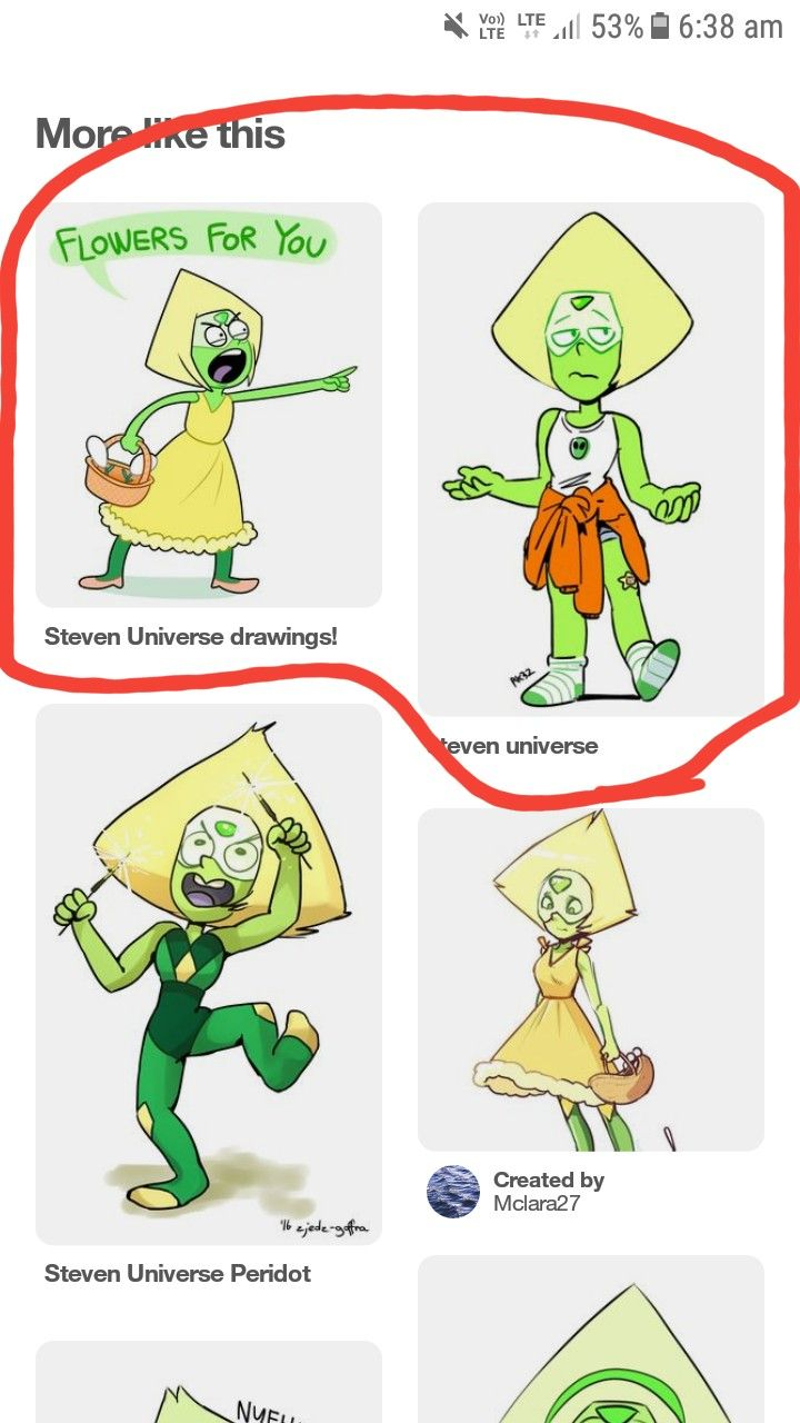 LOL peridot Steven universe