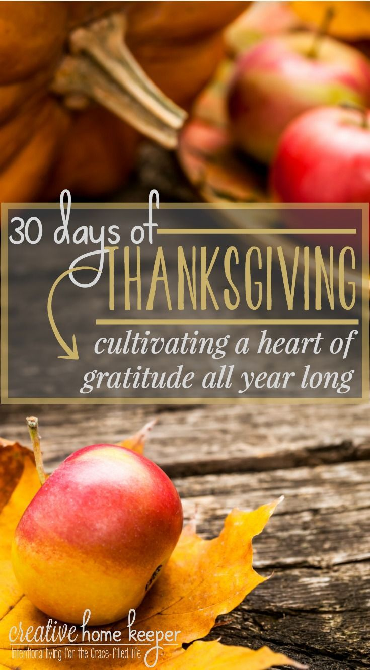 Cultivating gratitude and practicing thanksgiving aren't just reserved for the month of November. They are spiritual disciplines we can include in our everyday daily devotional time. Start the disciple by practicing gratitude for 30 days with these simple ideas to draw your heart closer to all the gifts and blessings from above.