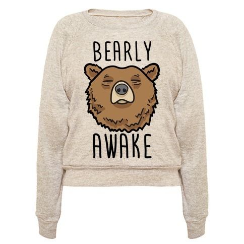 Perfect pullover for a bear lover, sleep lover, napper, lazy day, nap time, sleep quotes, lazy quotes, tired jokes, feeling sleepy and needing more sleep!