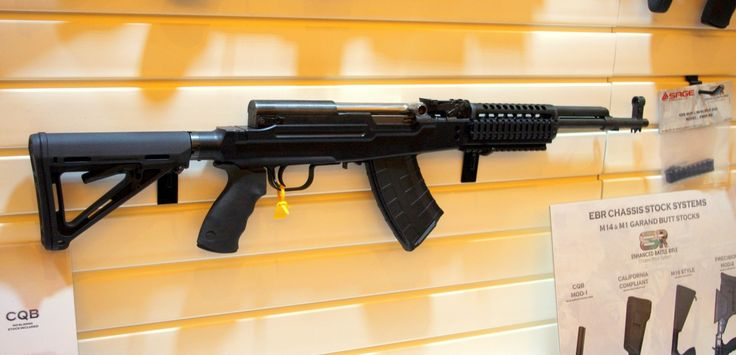 SKS rifle in a SAGE International LTD Chassis