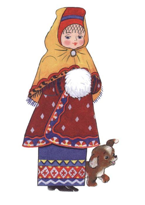 vologodskiy narodn costume