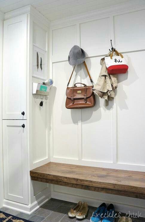 Storage bench hooks
