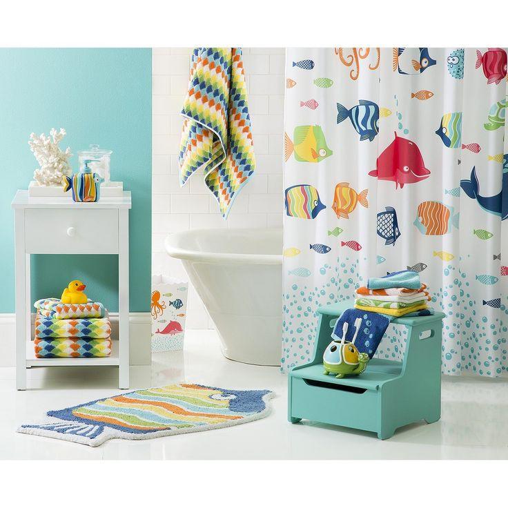 Curtains Ideas target kids shower curtain : Circo™ Fish Shower Curtain