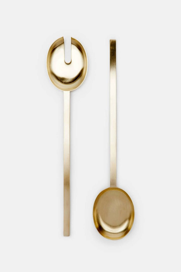 205 best cutlery images on pinterest tableware cutlery and flatware brass salad servers great gift for the in laws or foodies kitchen things