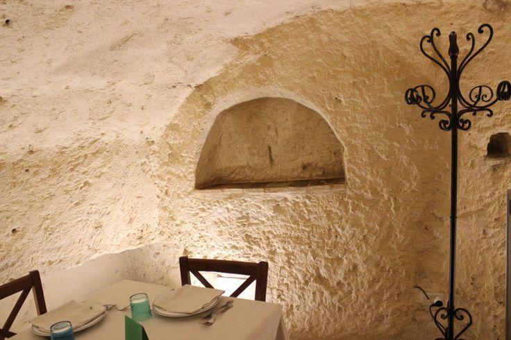 Ristorante a Matera foto scattata da Franco Dall'Agata