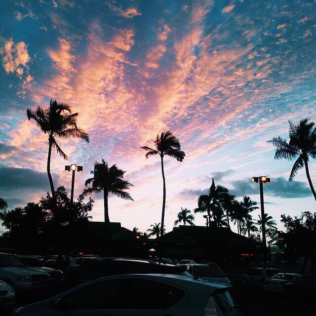 sky / clouds / sunset / sunrise / colorful / skies / beautiful / pretty / gorgeous / cloudy / creation / God's painting / aesthetic /