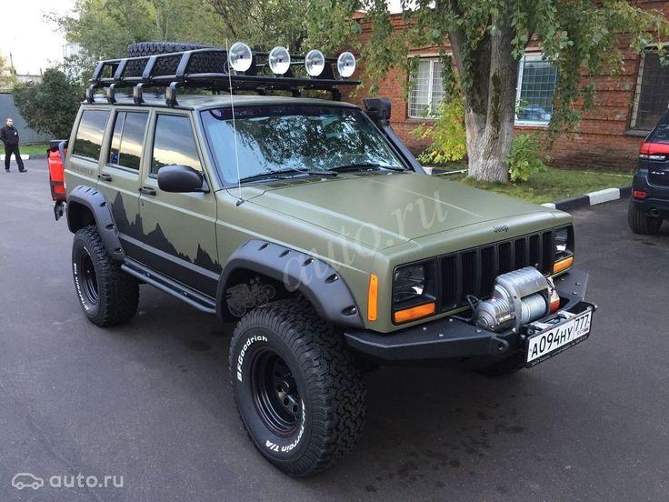 Купить Jeep Cherokee II (XJ) Рестайлинг с пробегом в Москве: Внедорожник 5 дв…