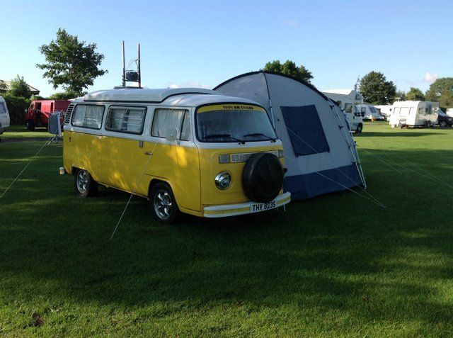 Pheobe!  The 1977 Bay VW Camper for sale