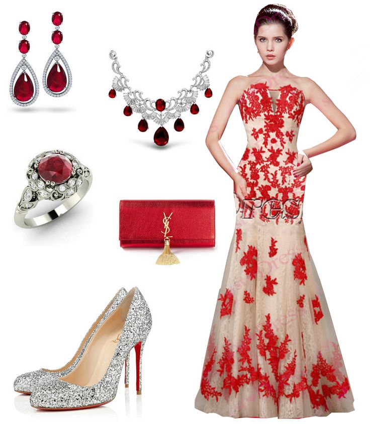 66 best Red Prom Dress images on Pinterest | Red prom dresses ...