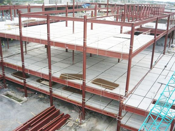 Calcium Silicate Board Lightweight Partition Wall Panel Precast Concrete Wall Paneling Concrete Floors