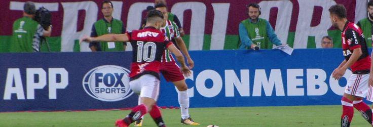 Copa Sul-Americana 2017-2017 no globoesporte.com - veja como foi Flamengo x Fluminense: escalação, informações sobre o jogo, fotos e muito mais