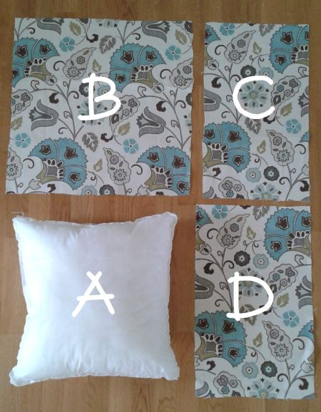 How to make a pillow Sham