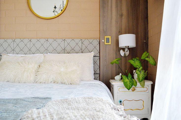 Renovando la decoración del dormitorio cambiando los accesorios textiles