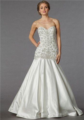 Beautiful Bridal Fashion Board Brought to you by...My Faux Diamond! www.myfauxdiamond.com #myfauxdiamond #bridal #jewelry Sophia Moncelli for Kleinfeld 13005
