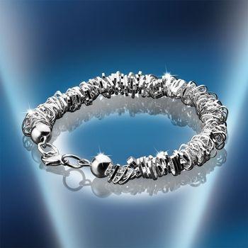 Newbridge Jewellery - BD0266 Beaded Heart Bracelet