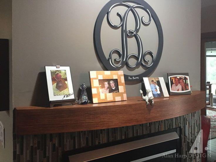 Hickory Fireplace Mantel Shelf Shapeyourminds Com
