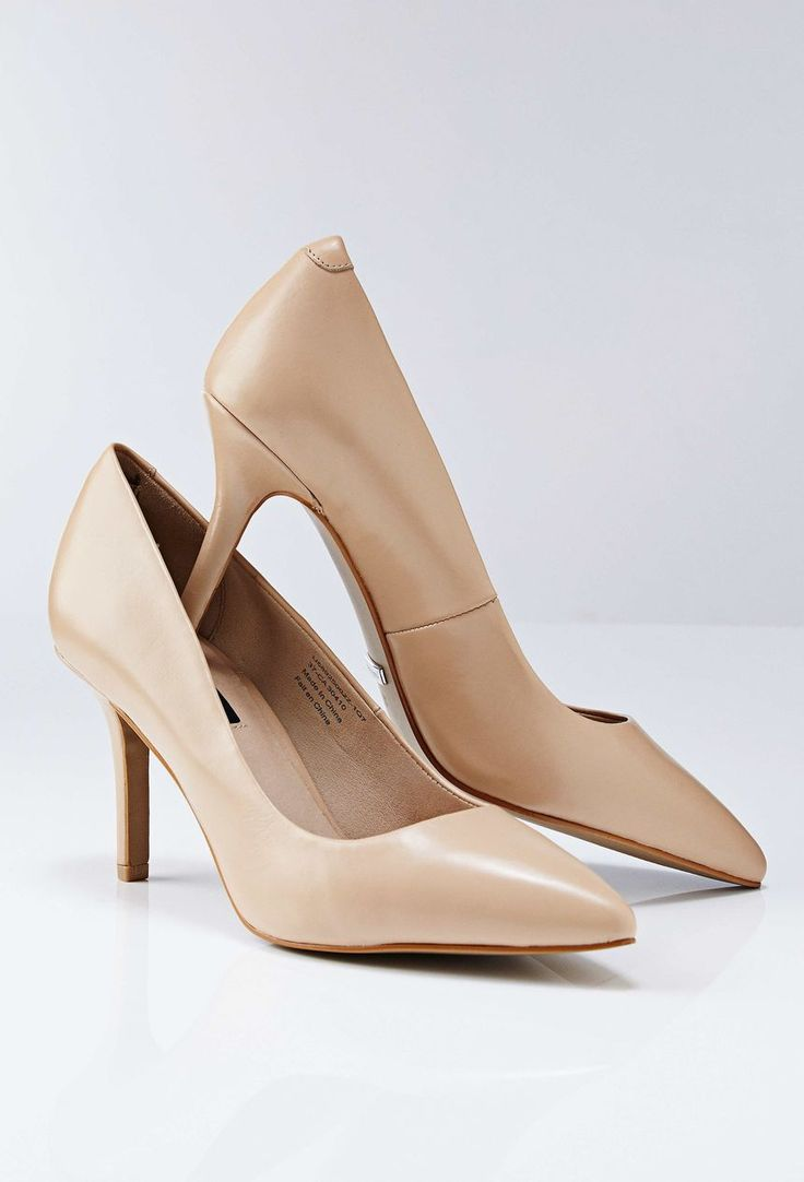 Tiger Of Sweden-Vivi Pumps-Women's pump in leather. Classic style with a sleek, slim silhouette. Pointy toe. Full leather interior. Heel: 7.5 cm. Colour: Frappe