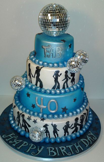 disco theme cakes - Google Search