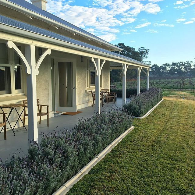 By rebuilding the original farm house, as well as keeping one of the few orchards of the Barossa alive and viable, we're able to continue another tradition so important to me; old fashioned country hospitality - MB.