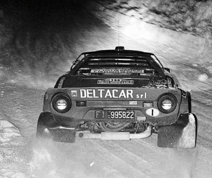 Lancia Stratos Melani Franceschini Monte 80
