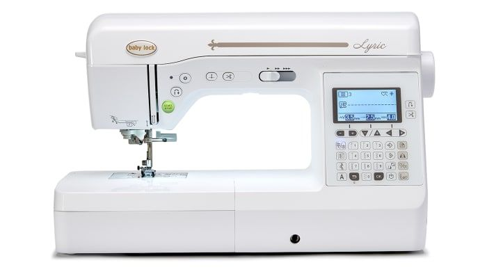 My Dream Sewing Machine The Lyric Sewing Machine Baby Lock Products Babylock Baby Lock Sewing Machine Sewing