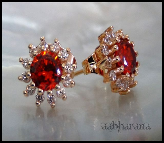 18K Gold Filled high quality CZ Earrings