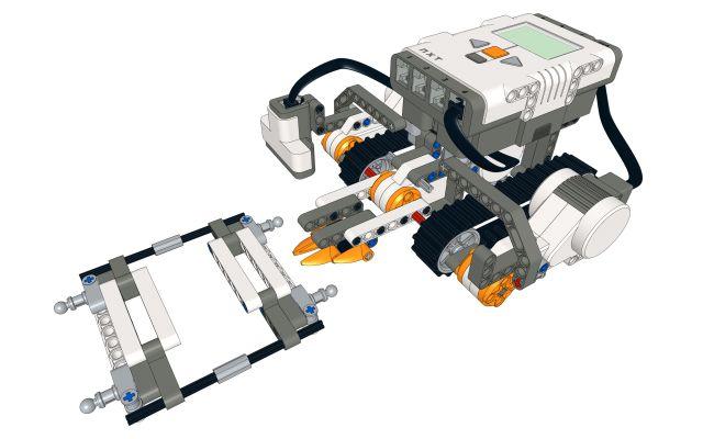 Tank bridge - LEGO Mindstorms NXT