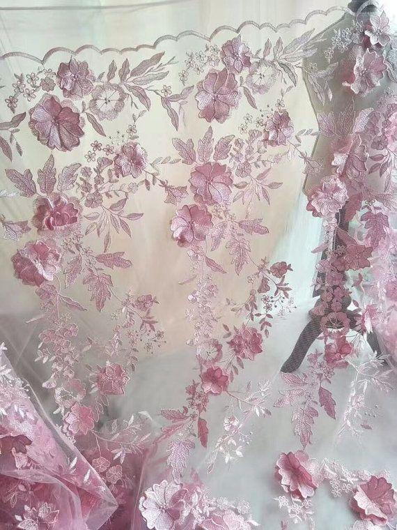Mode kant stof guipure Lace 3D flowerLace stof borduurwerk