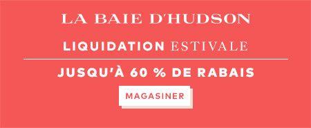 (6/23-7/23) Liquidation estivale : jusqu'à 60 % de rabais à labaie.com