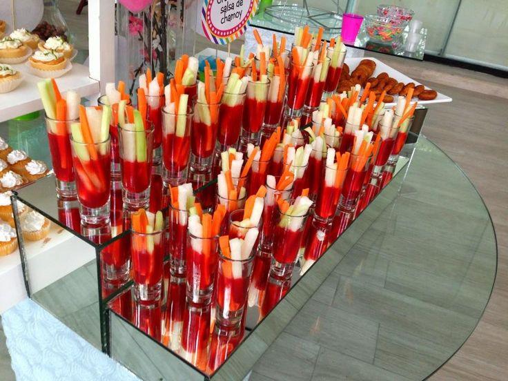 appetizer idea - fruta con chamoy