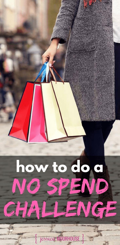No spend challenge | No spend challenge 30 day | No spend challenge rules | Spending ban | Shopping ban |Spending cleanse #nospendchallenge #shoppingban