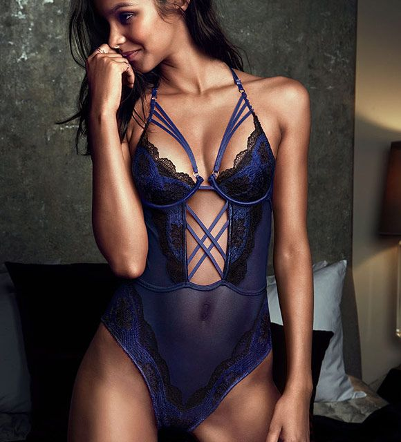 Limited Edition Lace Crisscross Teddy is part of the #lingerie collection on Haute Day.  Check out http://hauteday.com/