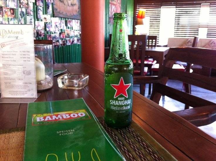 """In der Bamboo Bar von Auswanderer Matthias Bück auf Koh Samui in Thailand, bekannt aus """"Goodbye Deutschland"""""""