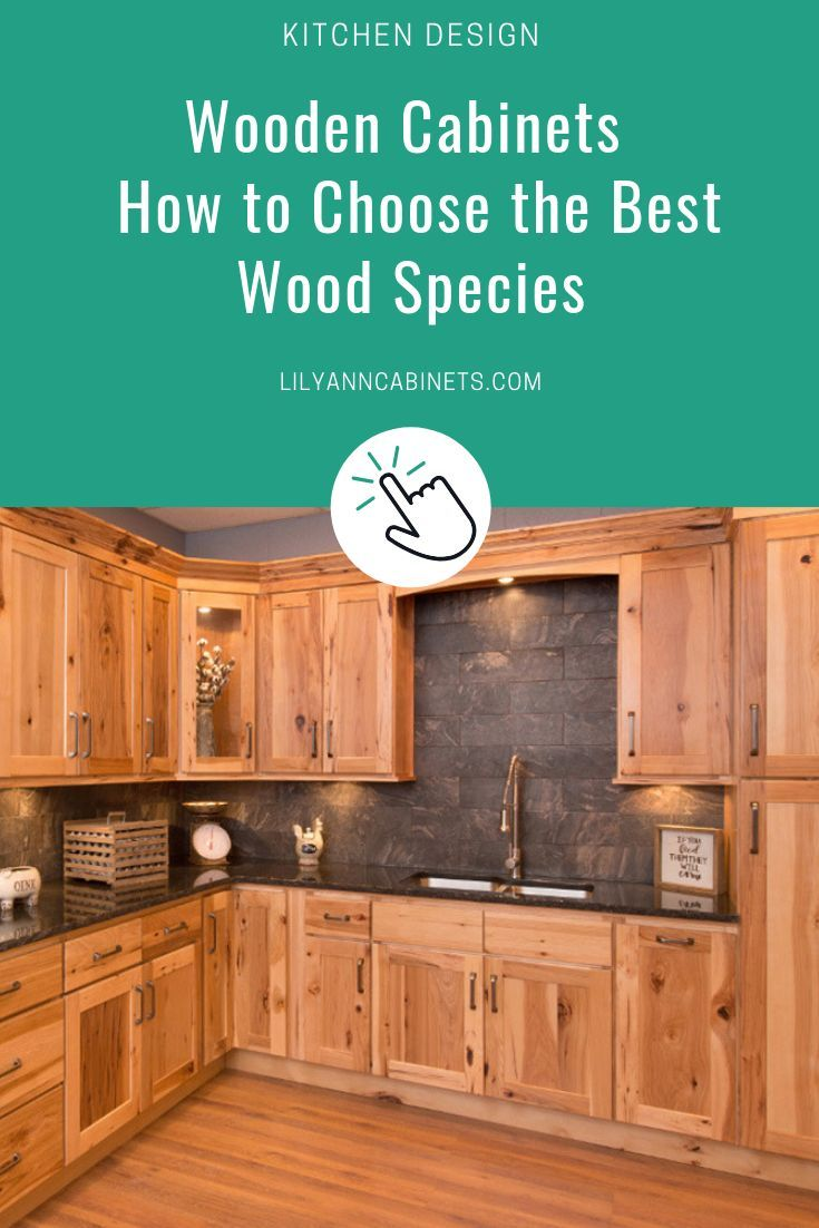A Simple Guide To Choosing The Best Wood Cabinet Type Rustic Kitchen Kitchen Cabinets Wooden Cabinets