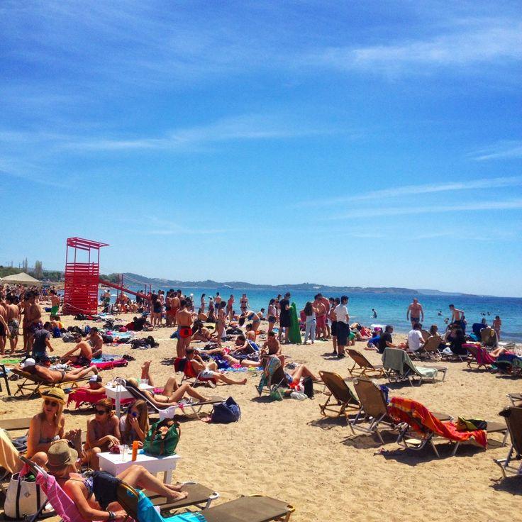 S Beach   South Coast #AthensCoast #Voula #Athens #Greece #Beach
