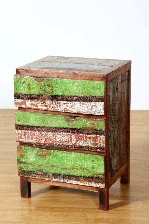scrap wood from recycled indonesian fishing boats - truly one of a kind