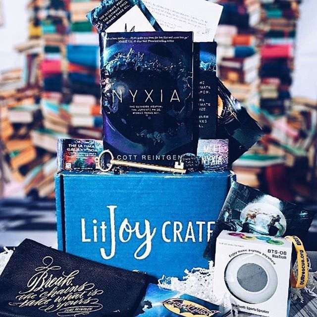 "Happy almost Friday everyone!  (We're not the only ones ready for the weekend right?) . . We just cinched up the last item in our upcoming ""The Chosen One"" November crates and this box is packed full of amazing high end goodies!  We are thrilled to announce that @eviebookish designed not 1️⃣ but ✌TWO STUNNING items going in this crate that you are going to love using!! One of the items is Harry Potter themed and the other is inspired by Ready Player One and we're obsessed with both of them…"