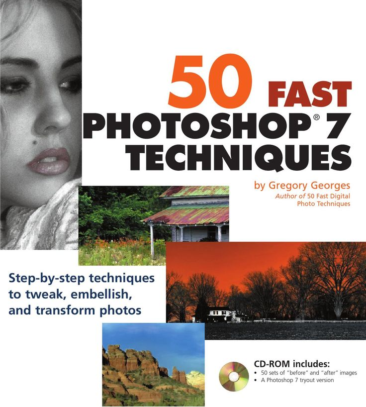 50 Fast Photoshop 7 Techniques by Gregory Georges This PDF files was repulbish by http://miumiubagsjps.com/
