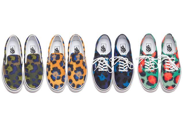 LOOKING FOR THOSE Vans x Kenzo in size 36 (or 3) in orange color, desperatly !!!! HELP ? Clouded leopard #vans #Kenzo #cartonmagazine